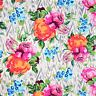 OOP - HAPI tapestry rose linen by Amy Butler cotton quilting & style fabric