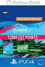 FIFA 19 PlayStation 4 - 12000 FUT Points Key FIFA Ultimate Team PS4 - DE Account