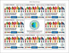 More details for sao tome & principe stamps 2020 mnh family remittances zona 2 upu corona 8v m/s