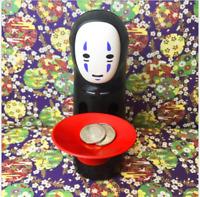 Coin Bank Spirited Away No-Face Man Kaonashi Music Piggy Bank Figure Anime Decor