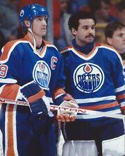 Grant Fuhr Signed 8x10 Photo With Wayne Gretzky Edmonton Oilers Autographed COA