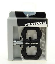 Tioga Surefoot 8 Pedals 9/16 Alloy Platform Black