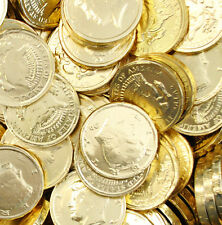 Gold Milk Chocolate  Half Dollar Coins -1-lbs - made in holland kosher