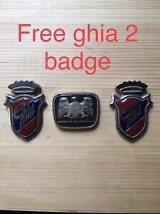 RARE JDM HONDA OF AMERICA  Honda of america EMBLEM AND FREE FORD GHIA BADGE