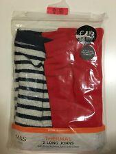 M&S Boys 2 Pack Thermal  Long Pants