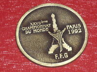 [Coll. Jean DOMARD SPORTS] WORLD CHAMPIONSHIPS GYMNASTIQUE PARIS 1992 FFG/FIG