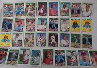 1988 Topps Philadelphia Phillies Team Set of 33 Baseball Cards