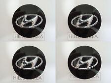 HYUNDAI TUCSON 10-15 / Santa Fe 13-15 OEM Wheel Center Hub Cap 4pcs 1Set