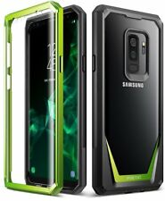 Samsung Galaxy S9 Plus Case Full-Body Cover With Built-in-Screen Protector Green