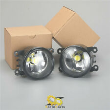 Fit For Ford Nissan Suzuki & NEW A Pair of Front LED Fog Lights Lamps H11 Bulb