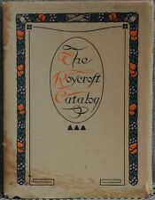 The Roycroft Catalog of Books and Things 1909 original