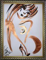 Margarita Bonke Malerei PAINTING art Bild erotica erotika akt abstract Zeichnung