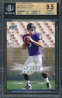 2008 upper deck rookie exclusives #re26 JOE FLACCO rookie BGS 9.5 (9.5 9 9.5 10)