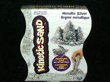 Kinetic Squeezable Play Sand 1lb Metallic Silver Never Dries Out 1 pound New