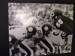 TERRY BRADSHAW #12 Quarterback Pittsburgh Steelers 16 x 20 Photograph 1st Game
