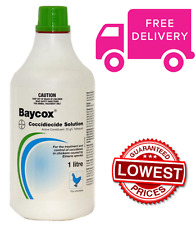 Baycox Coccidiocide Poultry Solution 1 LITRE - BRAND NEW