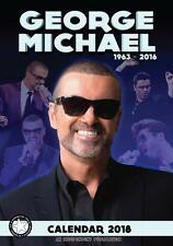 GEORGE MICHAEL CALENDAR 2018 LARGE UK A3 POSTER SIZE WALL NEW BY DREAM