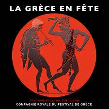 CD La Grèce en Fête - Chansons et danses folkloriques