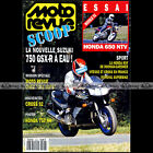 MOTO REVUE N°3004 SUZUKI GSXR 750 HONDA NTV 650 RVF & NR 750 COUPE KAWASAKI 1991