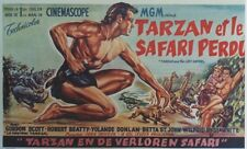 """TARZAN ET LE SAFARI PERDU (TARZAN & THE LOST SAFARI)"" Affiche ent. Gordon SCOTT"