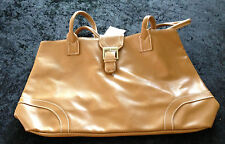 BRAND NEW - Lovely Light Brown Faux Leather Purse w/Interior Pockets