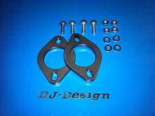 "2.5"" Universal Exhaust Flange Kit 10mm thick mild steel 2pk New"