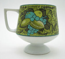 Vtg Holt Howard Footed Coffee Mug Japan Pedestal Cup Retro 7699 Mid Century Mod