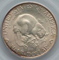 Albany 1936 50¢ Commemorative Silver Half Dollar PCGS MS65 Choice BEAVER GEM