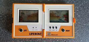 Original Nintendo Game and Watch Life Boat Multi Screen TC-58 von 1983