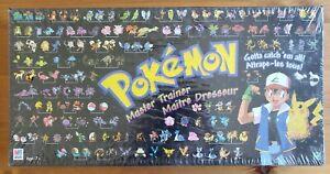New Sealed Pokémon Master Trainer Board Game 1999,  Hasbro