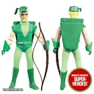 Mego Green Arrow COMPLETE Outfit Repro Boots Hat Bow Pack 8 inch Figure WGSH