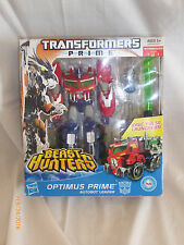 Transformers Prime Beast Hunters Optimus Prime Voyager Class AutoBot