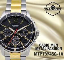 Casio Classic Series Men's Analog Watch MTP1374SG-1A