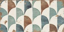 "Spanische Wandfliese ""Esenzia Gondola"", 15x30 cm, Dekorfliese, Vintage"