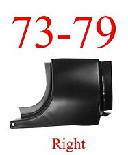73 79 Ford RIGHT Front Door Post, Regular Cab, Truck F150 F250 F350 78 79 Bronco