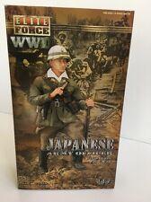 "ELITE FORCE 1:6 WWII Japanese Army Officer ""Saburo Nakagawa"""