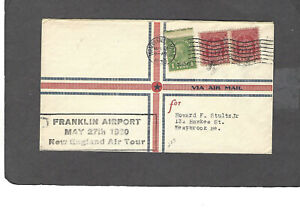 #669 1930 FRANKLIN AIRPORT-NEW ENGLAND AIR TOUR TURNERS FALLS,MA MAY 27-1930