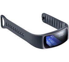 SAMSUNG sm-r360 Gear Fit Smartwatch 2 con banda di grandi dimensioni-NERO-gratis UK Postage!