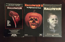 Halloween Vhs Lot Media Mca Halloween II 3 Tapes Excellent