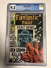 Fantastic Four (1969) # 92 (CGC 9.2 OWTWP) | Jack Kirby Stan Lee