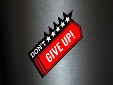 1 x adhesivo Don 't give up Star Estrella estrellas sticker auto pegatinas Shocker Fun