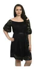 Womens Plus Dress 3X New Lace XXXL 22 24 3XL Black Gorgeous Fall Party NWT Deal