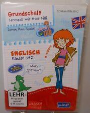 Englisch Software Schule PC & MAC CD-ROM Lernspaß Hexe Lilli 1.+2. Klasse T101