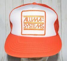 Aluma Systems Patch Mesh Trucker Hat Snapback Vintage
