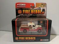CORGI FIRE heroes 1951 Seagrave PUMPER TRUCK 2 Tone Cream/Red 1/64  NEW