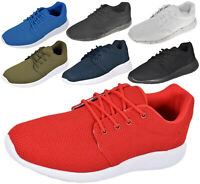 Mens Trainers Comfy Fitness Sports Running Gym Casual Outdoor Sneakers Shoes UK