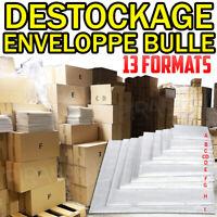 LOT ENVELOPPE A BULLES D'AIR PRO POCHETTES MATELASSEES EXPEDITION 13 FORMATS