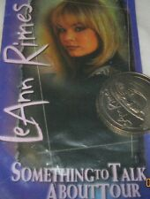 LeAnn Rimes official tour commemorative coin Something to talk about tour