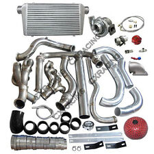 Turbo Intercooler kit For 99-07 Chevrolet Silverado Vortec V8 4.8 5.3 6.0