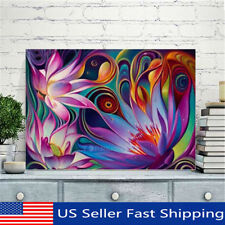 Colorful 5D Flower DIY Full Diamond Painting Embroidery Cross Craft Stitch